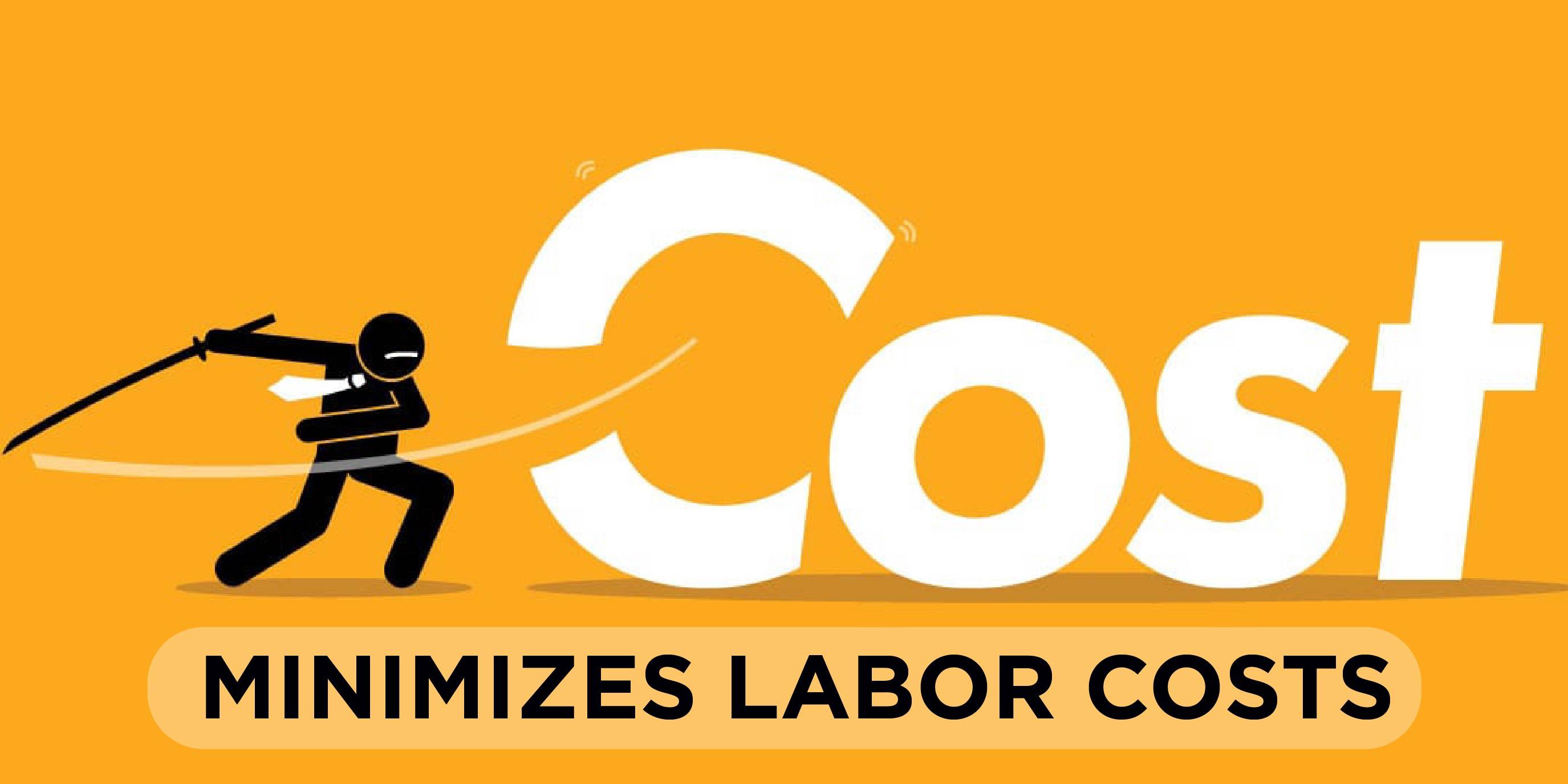 Minimizes Labor Costs 01