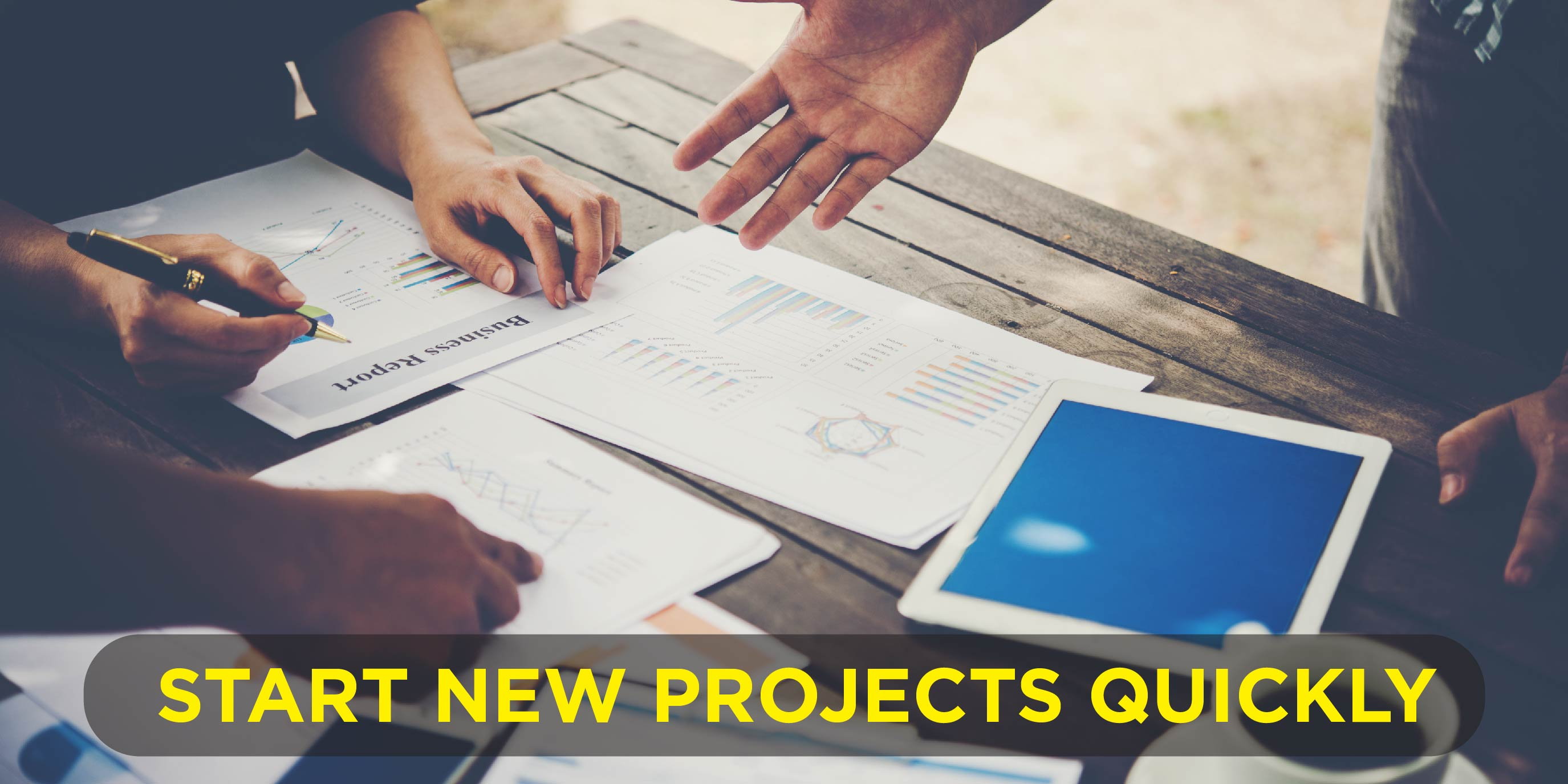 Start New Projects Quickly 01