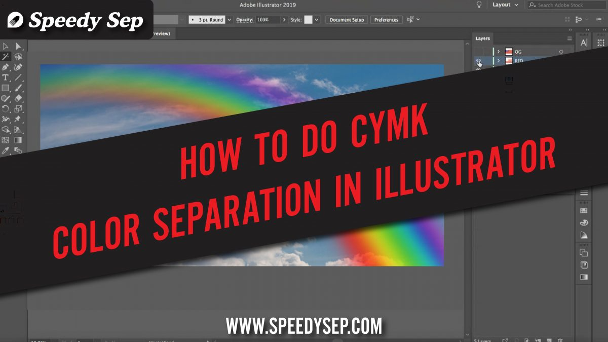 How To Separate CMYK 4 color Process For Screen Printing (Video Guide)