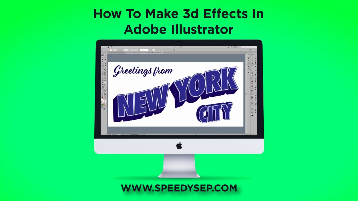 How to make 3D Effects in Illustrator (Full Video Guide)