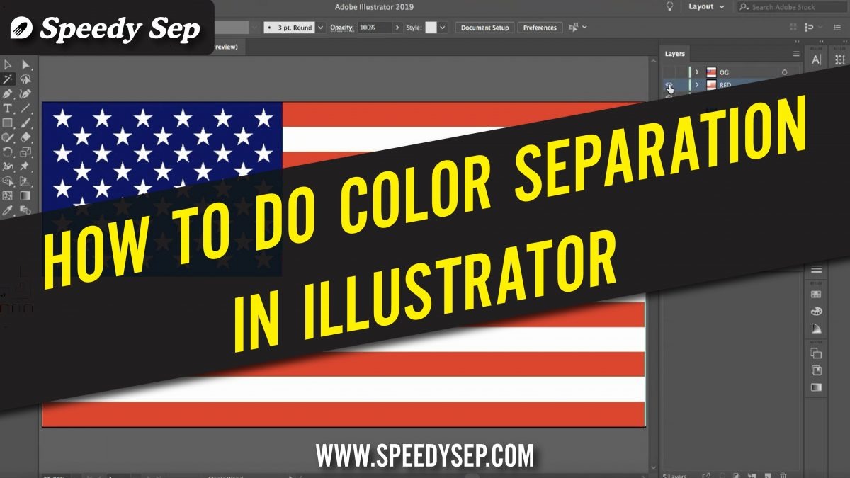 Color Separation for Screen Printing Illustrator (Guide)