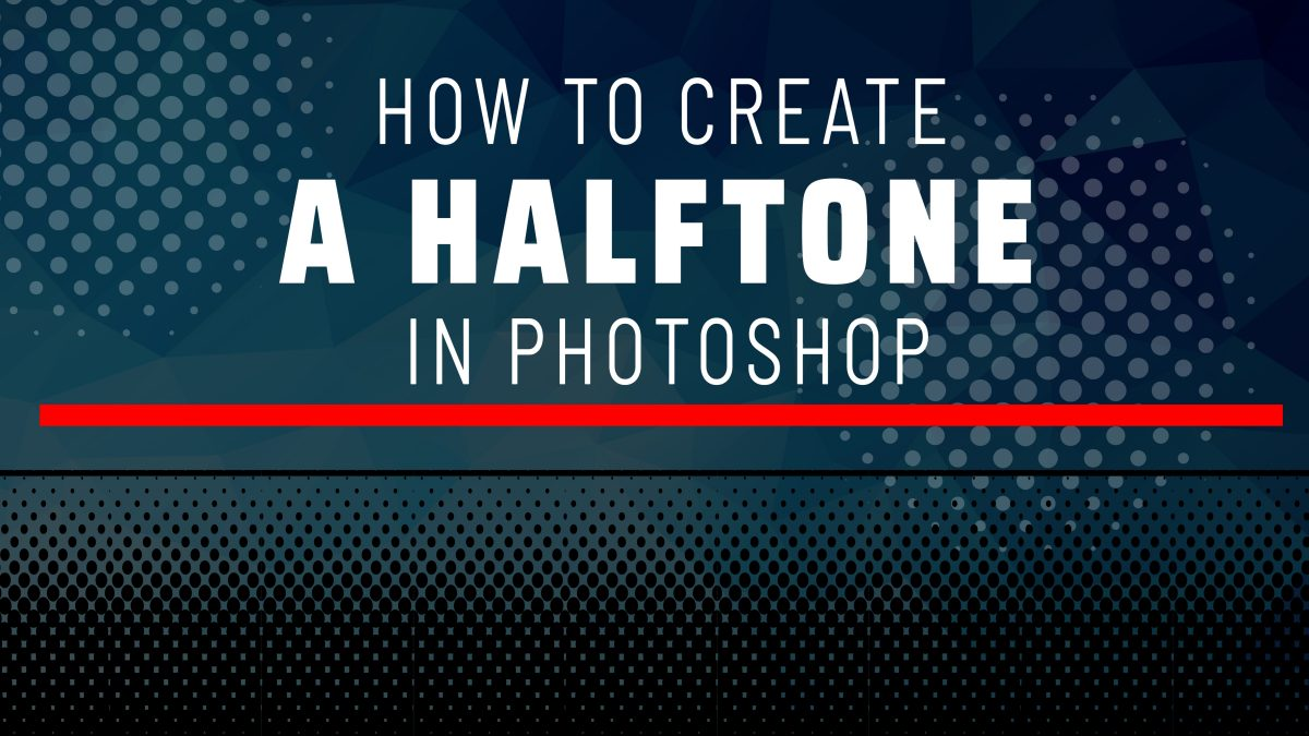 halftones in Photoshop