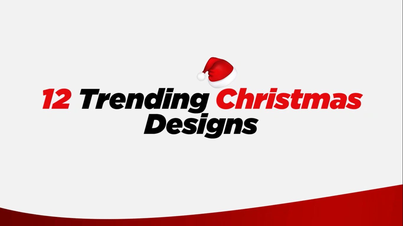 The hottest 12 design trends for 2020 Christmas