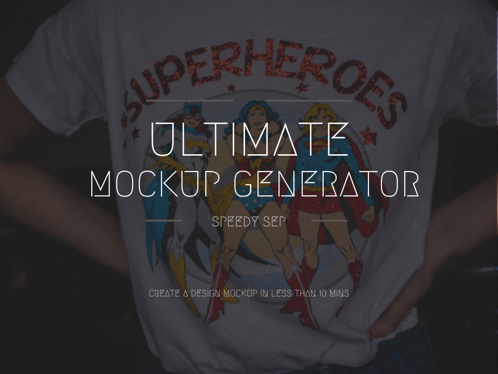 MockUp Generator – Speedy Sep