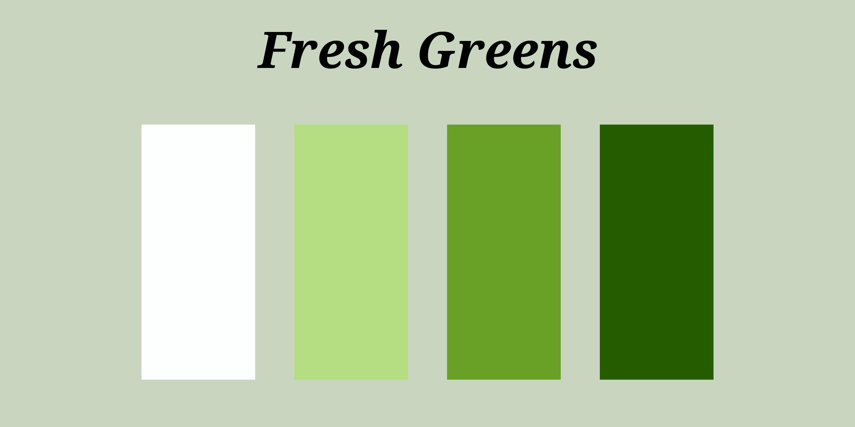 Fresh Greens 01