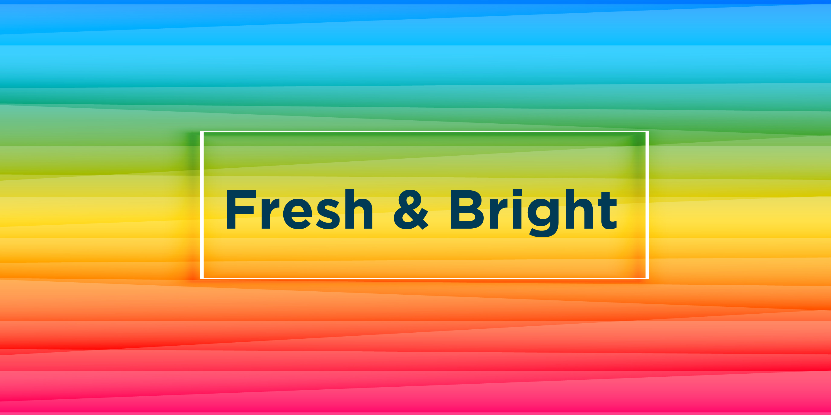 Fresh and bright 01