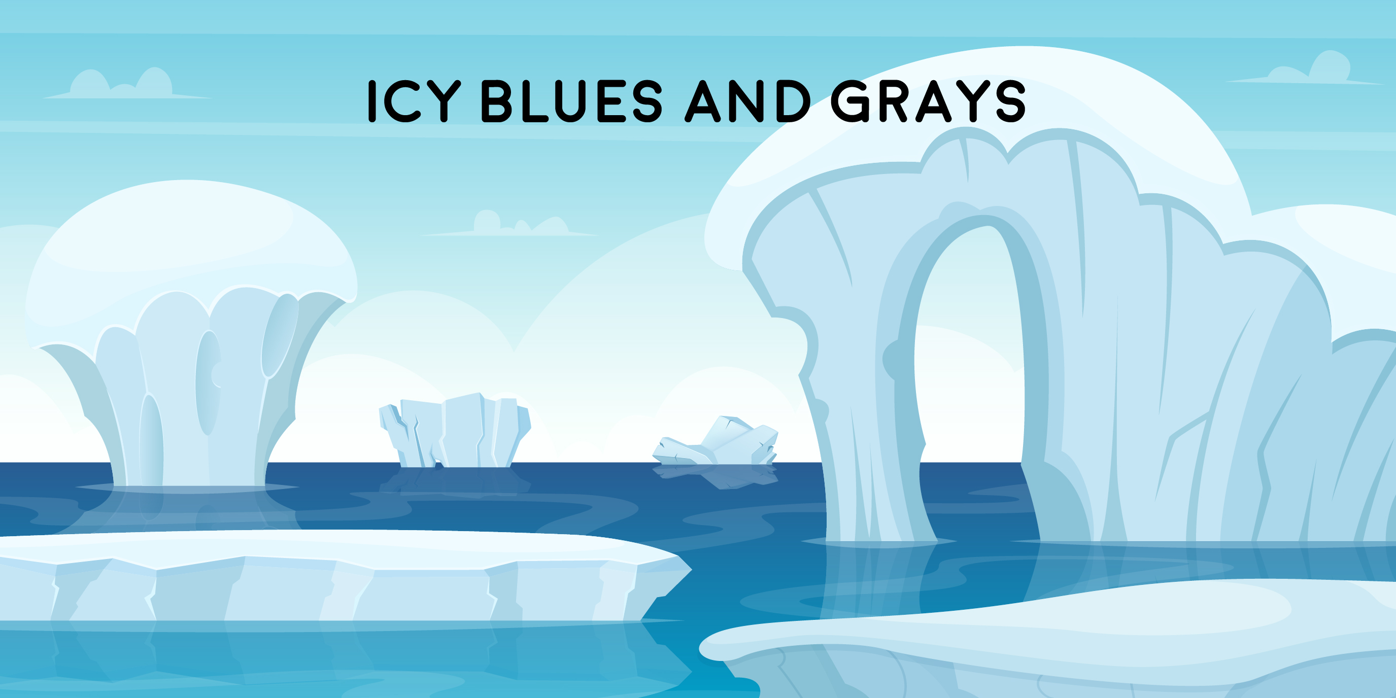 Icy Blues and Grays 01