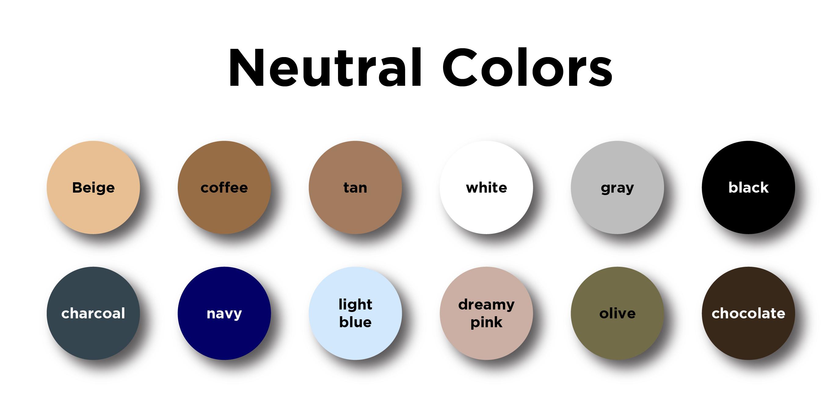 Neutral Colors 01