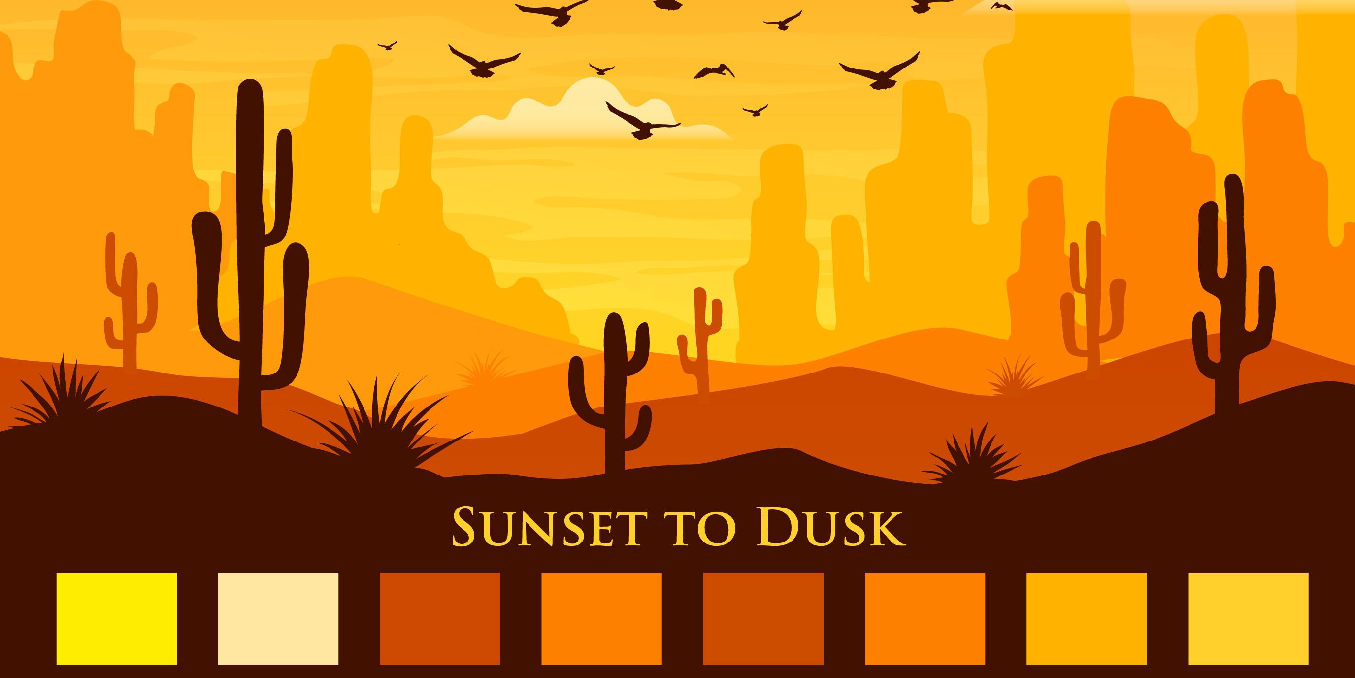 Sunset to Dusk 01